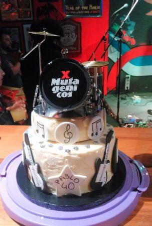 Tarta Pablo 40 cumpleaños